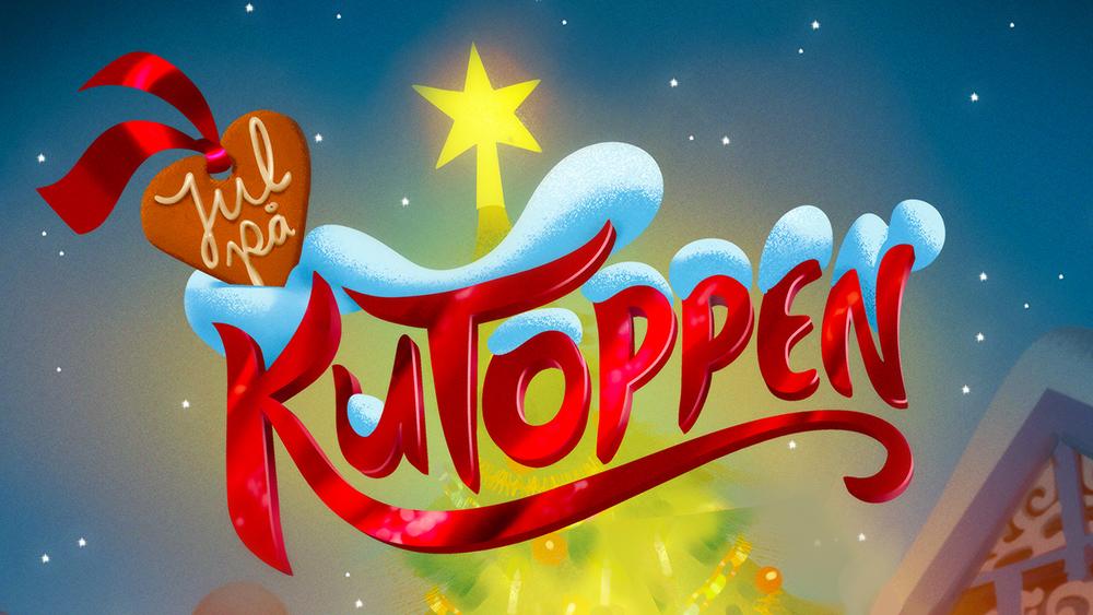 Jul i Kutoppen Logo - Christmas at Cattle Hill Logo